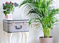 Comodino creato con il riciclo delle valigie vintage #DIY #suitcase #vintage