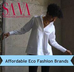 eco fashion friendly list - great resource!