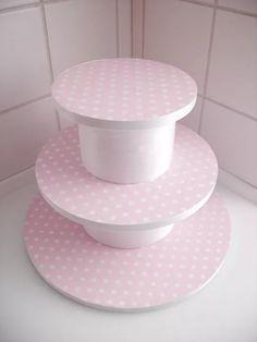 torre de cupcake DIY