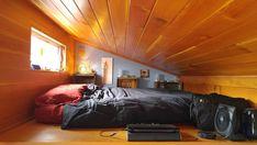 Bedroom Loft - Laura's Tiny House