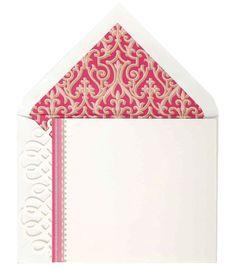 Anna Griffin Pink Corr Card