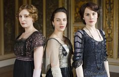 The Crawley ladies are inspiring British women to dress up and be more glamorous