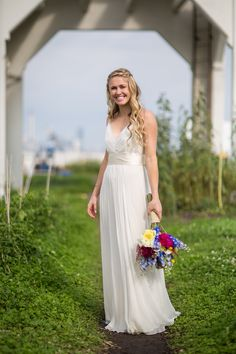 Nyc Wedding Venues, Manhattan Skyline, Brooklyn, Reception, Weddings, Bride, Celebrities, Garden, Beautiful