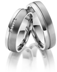 Opzoek naar Trouwringen edelstaal/titanium ? Dan bent u bij Trouwringenvoordeel.nl op het juiste adres! Titanium Ring, Wedding Rings, Engagement Rings, Weddings, Jewelry, Ideas, Enagement Rings, Jewlery, Jewerly