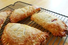 need to make these cherry hand pies with Gavin--  recipe says you can make blueberry or rhubarb, too