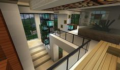 Modern house with style minecraft build 10 - Minecraft House Design