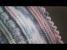Knitting Stitches, Baby Knitting, Diy And Crafts, It Cast, Blanket, Blog, Neck Design, Reading Glasses, Cord