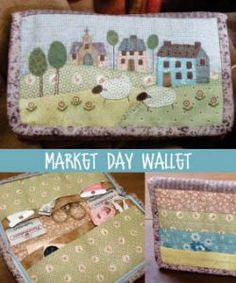 Market Day Wallet - by The Birdhouse - Pattern