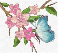 Great site, with free patterns, all created by Ann free cross stitch