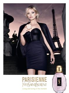 Reklama perfum YSL Parisienne