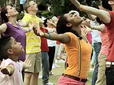 A Huge Flash Mob Comes Together to Celebrate God - WOW, Incredible. Second Baptist Church-Houston, Texas! My daughter Jamie is in the video!!