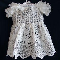 Maria Niforos - Fine Antique Lace, Linens & Textiles : Antique Christening Gowns & Children's Items Page Two