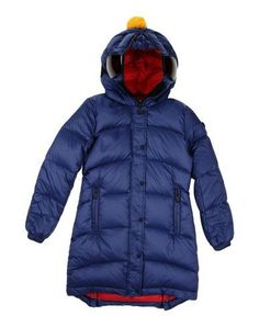 AI RIDERS ON THE STORM Girl's' Down jacket Dark blue 14 years