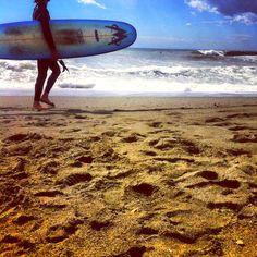 Surfing Levanto, Italy