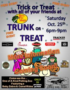 Bass Pro Shops in Rancho Cucamonga loves to have fun during Halloween, come join us for our 2014 Trunk or Treat Event!