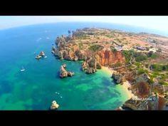 Ponta da Piedade, Camilo beach and Dona Ana beach aerial view - Lagos - Algarve - YouTube