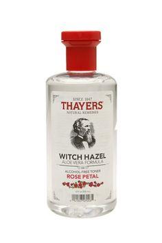 I swear by Thayers Alcohol-Free Witch Hazel Toner..it makes an amazing toner