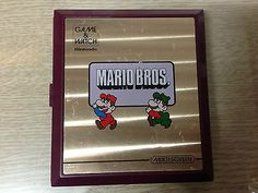 RARE 80'S Vintage Retro NINTENDO MARIO BROS MW-56 LSI LCD Japan GAME & WATCH Toy in Collectibles,Historical Memorabilia,Other Historical Memorabilia | eBay