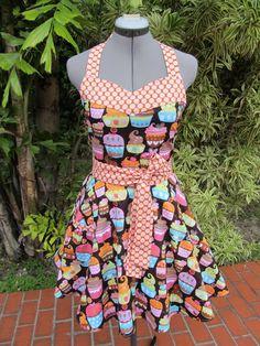 love cupcake apron