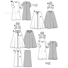 Find a pattern for Burda Style, 3 Holy Kings at Simplicity, plus many more unique patterns. King Costume, King Outfit, Diy Costumes, Costume Design, Pattern Fashion, Sewing Patterns, Aurora Sleeping Beauty, Inspiration, Clothes