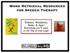 """""""WORD RETRIEVAL… Where is that word anyway?!"""" -------- Children often cross our paths who are experiencing word retrieval deficits. This is because it is not uncommon for a child with a language disorder to have word retrieval difficulties. Word retrieval difficulties make it difficult for children to participate in social interactions and academic tasks such as telling narratives. The good news is that we can teach them strategies to find the words they want at the appropriate time!"""