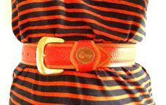 Cherryred red vintage leather Dooney & Burke by EepRamblings, $18.00