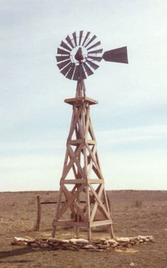 Cimarron, Kansas This is weird…….it looks like the windmill on my driveway…. Cimarron, Kansas This is weird……. Wooden Windmill, Farm Windmill, Types Of Renewable Energy, Old Windmills, State Of Kansas, Water Tower, Old Barns, Le Moulin, Solar Energy