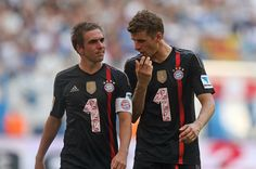 Lahm and Müller   Tumblr