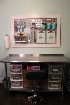 It happened. It finally happened. My studio is DONE. Ok, there are really two small projects that are not done but I'm just going to ignore those and pretend. Here's a look inside the r…