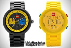 LEGO Releases Line Of Watches For Grown-Ups (Photos)