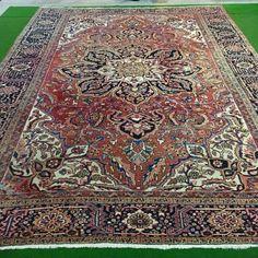 Catawiki Online-Auktionshaus: 432 x 310 cm, Heriz, Iran Iran, Bohemian Rug, Rugs, Home Decor, Beautiful Patterns, Persian Carpet, Farmhouse Rugs, Decoration Home, Room Decor