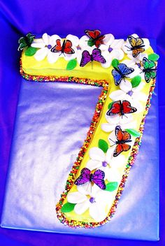 Seven Year Old Birthday Cake