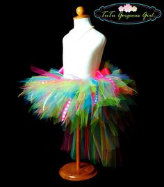 The absolute BEST tutus I've seen on etsy. Toddler Birthday Bustle Tutu...Ribbon Tutu, Photo Prop, Costume, Dance, Pageant...Sizes 12 Months to 4T . . . BIRTHDAY SURPRISE. $42.00, via Etsy.