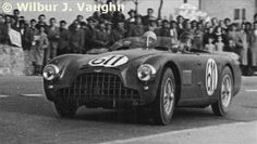1953. This Aston Martin DB3 came in 5th almost an hour behind the winning Ferrari.