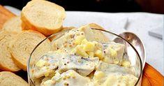 ŚLEDZIE W MUSZTARDOWYM SOSIE   Uwielbiamy śledzie, a te w musztardowym sosie w szczególności ! Śledzie przygotowujemy na wiele sposobów: w... Camembert Cheese, Food, Recipes, Pies, Diet, Essen, Meals, Ripped Recipes, Eten