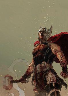 Thor. Curated by Suburban Fandom