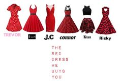 """""""O2l The red dress he buys you :)"""" by olivia-grier on Polyvore featuring ML Monique Lhuillier"""