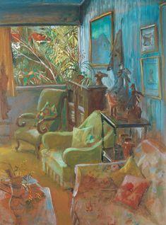 10 Sublime Useful Ideas: Living Room Paintings Boho interior painting schemes benjamin moore.Living Room Paintings Abstract bedroom paintings tips. Still Life Painting, Art Gallery, Australian Artists, Gallery Of Modern Art, Interior Art, Australian Art, Paint Designs, Painting, Interior Paintings