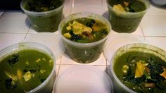 Chino Greeno soup -- kale/bell-pepper/tofu/mushroom soup -- this will help any inflammatory issue and is mmm good!