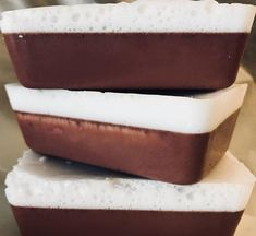 Red Velvet Soap with Double Butter and natural Cocoa Handmade