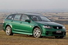 It's arguably one of the best looking wagons on the market, but how does it perform with the Redline package? Singer Cars, Holden Australia, Chevrolet Ss, Holden Commodore, Australian Cars, Man Vs, Pontiac Gto, Motocross, North America
