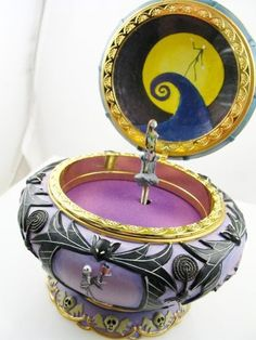 Sally Nightmare Before Christmas Music Jewelry Box Tim Burton's New In Box