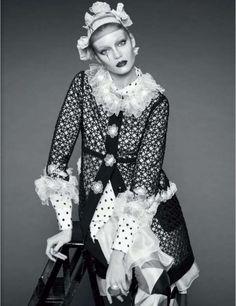 Classy Clown Editorials : Diana Moldovan for Jalouse