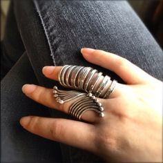 Finger ring, large #ring