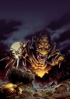 "johnny-dynamo: ""Pumpkinhead, Blu-ray cover art by Justin Osbourn """