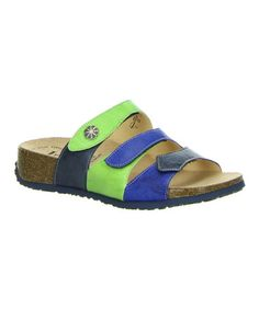 Look at this #zulilyfind! Water & Kombi Three-Strap Mizzi Leather Sandal by Think! #zulilyfinds