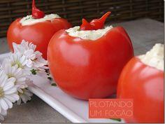 Tomate recheado light