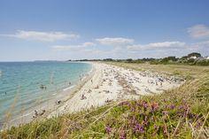 Presu'île de Rhuys - plage Goh Velin (Saint-Gildas)  Crédit photo : A. Lamoureux