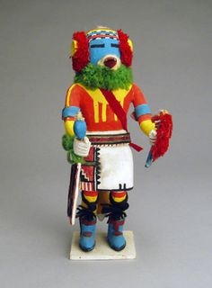 Hopi Kachina, c. 1960, Chakwaina's Uncle