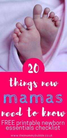 Just had a baby or are pregnant? These are the 20 things new mamas need to know - the things no-one tells you about parenting